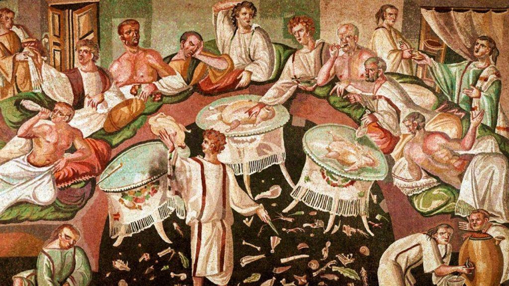ПИР в древнем Риме